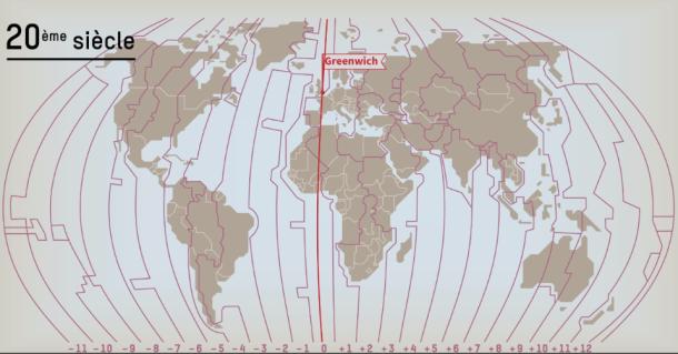 Carte Australie Avec Fuseau Horaire.Comprendre L Etrange Decoupage Des Fuseaux Horaires En 5